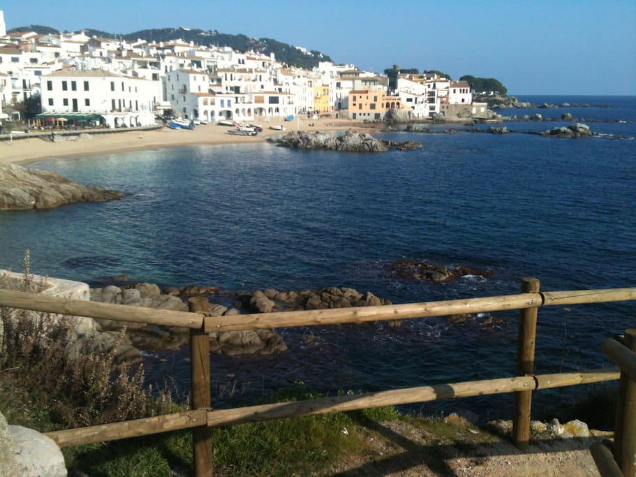 The beaches of Costa Brava are 30-45 minutes drive time from Girona