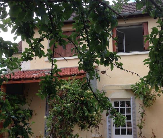 Maison rénovée, calme vue confort. - Lucy-sur-Yonne - Huis