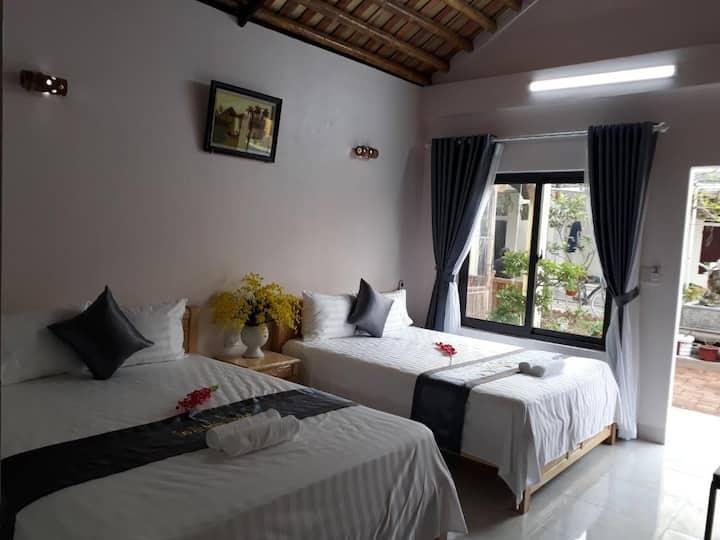 Quadruple Room with Garden View - Tam Coc Sunrise