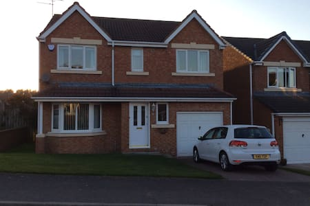 2-3 bedrooms in modern four bedroom house - Bedlington - Ház