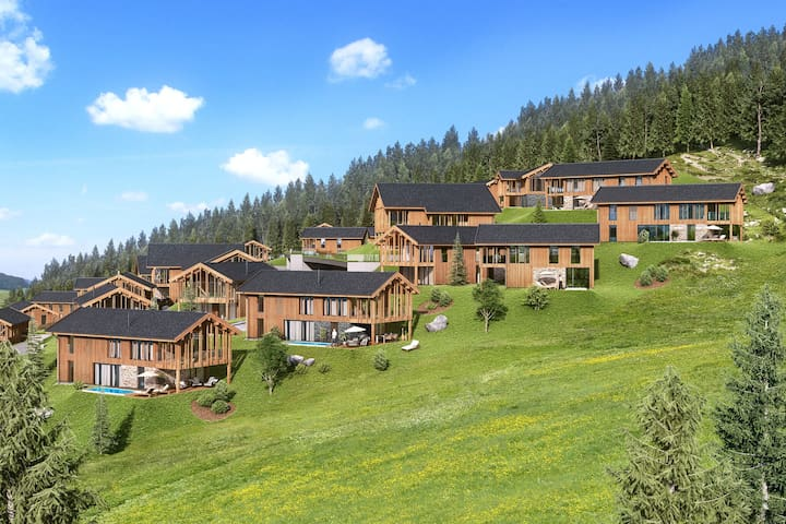 Luxurious chalet close to Ennsling with private spa