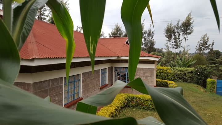 Cosy home in Nyeri