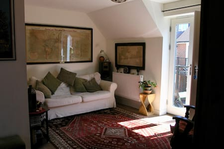 Oxford coach-house eco-apartment