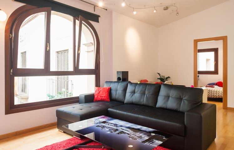 double bedroom in sXVIII masia!!BCN - Hospitalet de Llobregat - Apartment