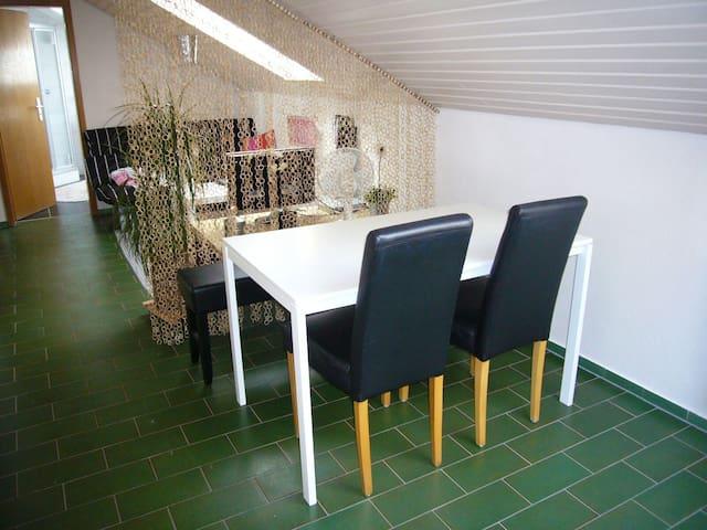 Schöne Wohnung mit 5 Einzelzimmern - Schelklingen - Apartament