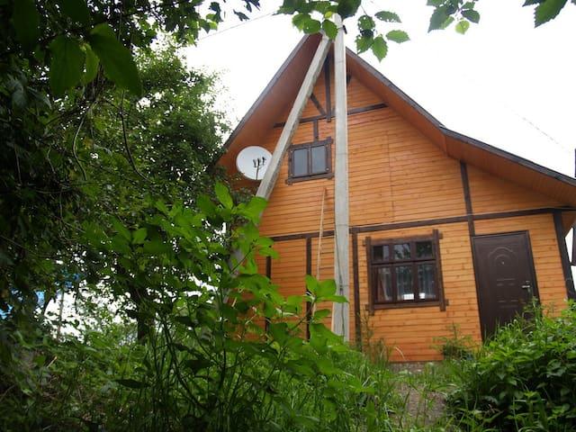 Канадский домик в Карпатах - Pistyn' - House