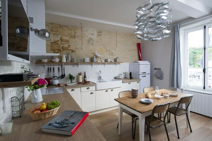 Apartment 4 people- Landing Beaches - Port-en-Bessin-Huppain - อพาร์ทเมนท์