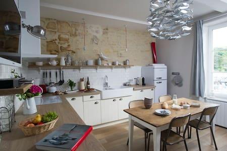 Apartment 4 people- Landing Beaches - Port-en-Bessin-Huppain - Apartemen