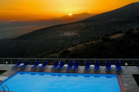 See Evia Panoramic sea view pool 5 - Nea Stira