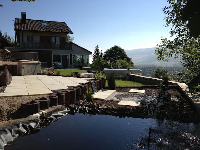 Villa avec wellness et piscine - Le sentier - Rumah