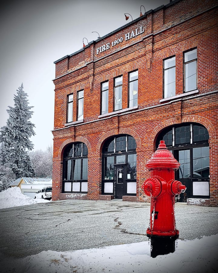 Green Sprout at the Old Firehall Rossland BC