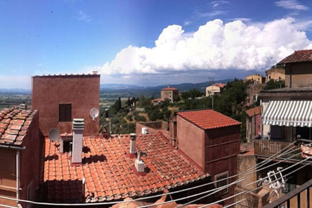 panoram fro the little terrace