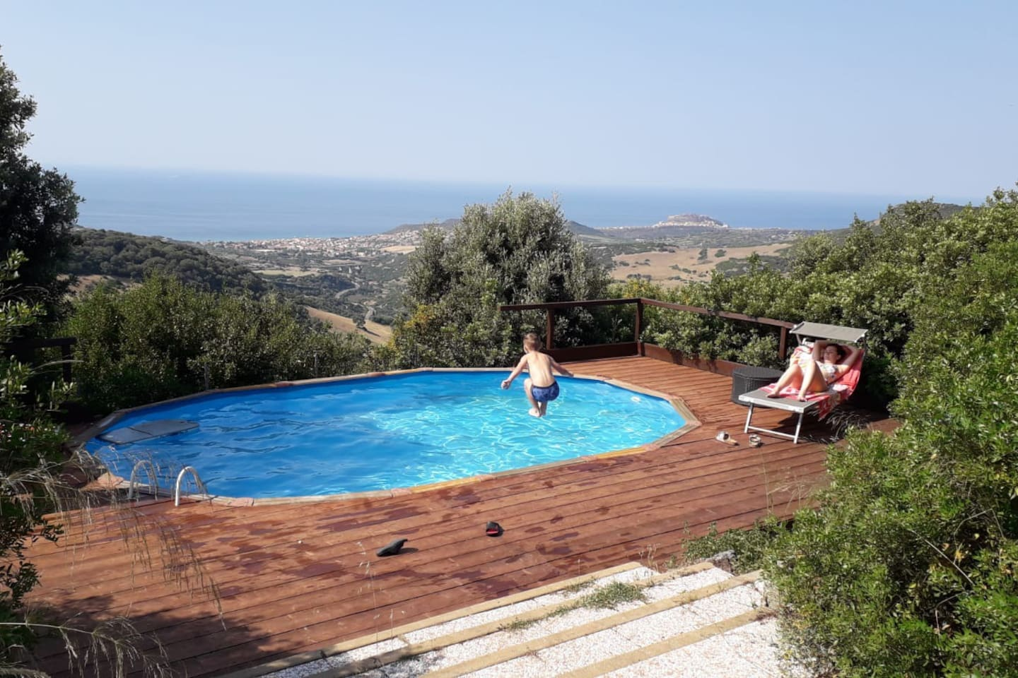 Relax and enjoy in the private pool of Villa Marcella