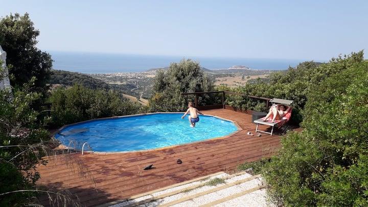Villa Marcella con piscina privata e wi-fi free