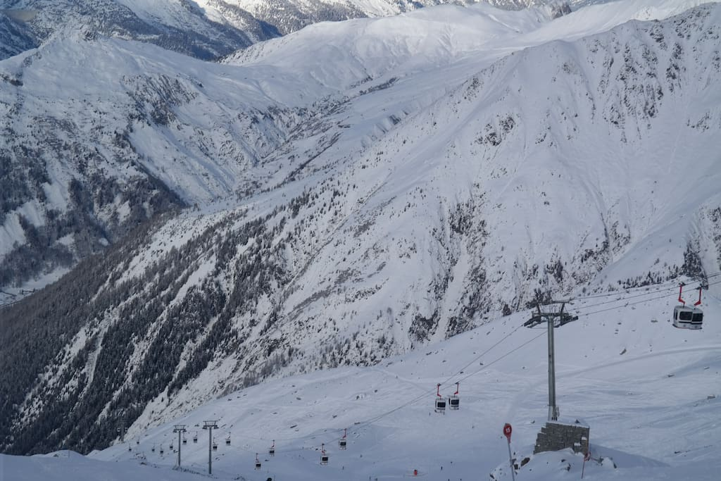 Grands Montets ski slopes