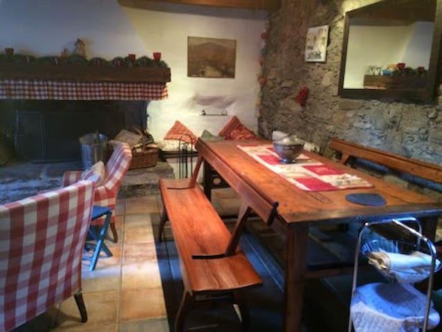 Petite maison de montagne 6/8 pers. - Cadéac - Casa