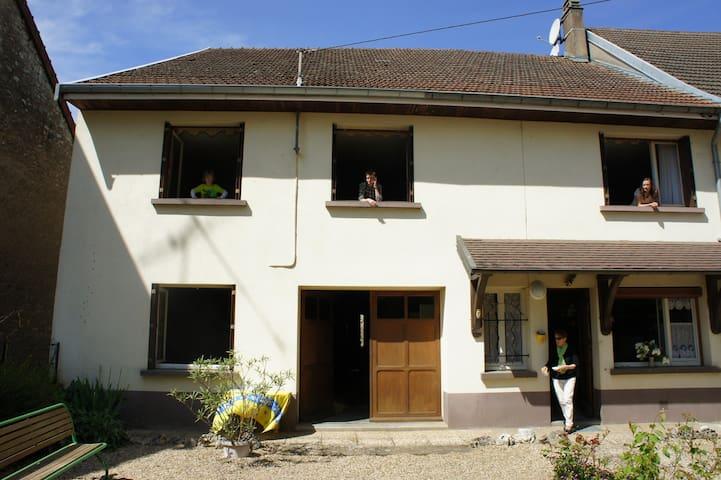Entre la Serre et l'Ognon - Thervay - Haus