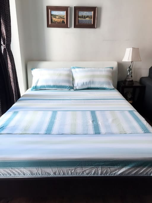 Queen Size Bed - European Size