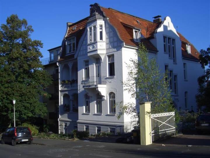 Terrassenzimmer am Bergpark 32qm