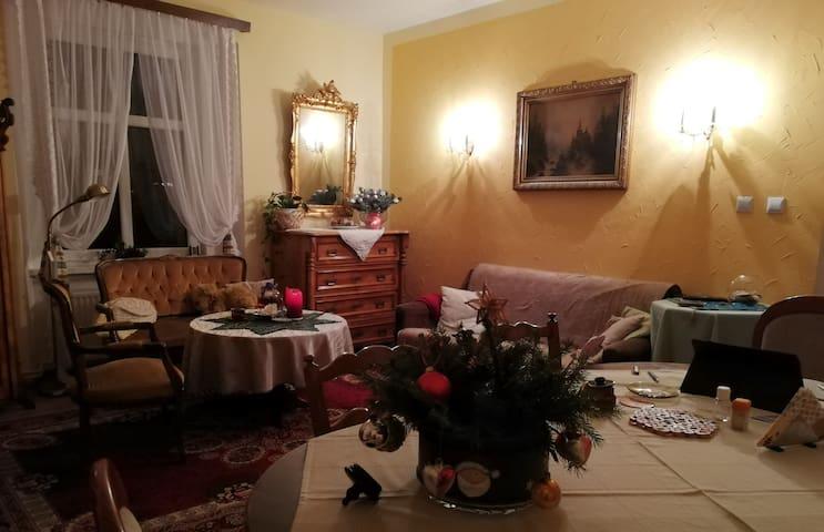 "Apartament im früheren ""Hotel de la Pologne"""