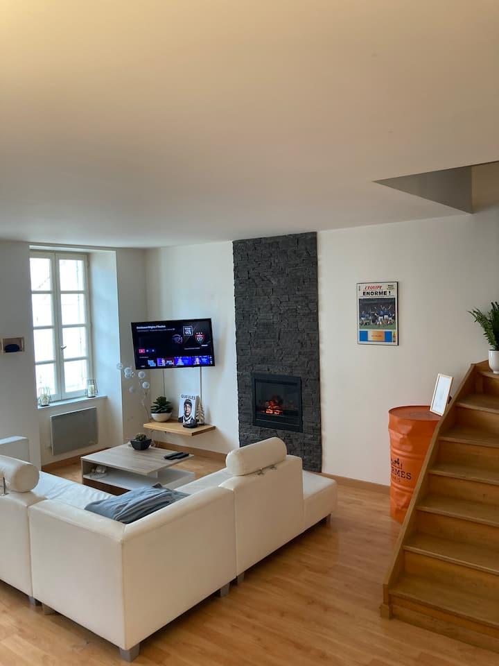Appartement de standing dans un village provençal