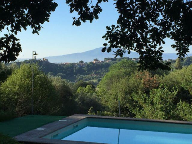 Lovely Country House with pool in Tuscia - Viterbo