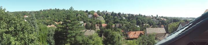 2 kamer woning  Miskolctapolca met panorama