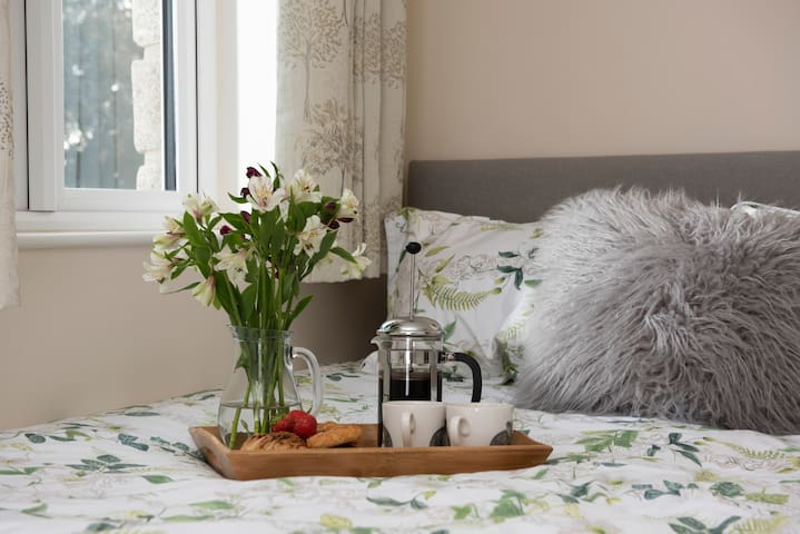 The new  beds are top quality and very comfortable with sumptuous duvets and pillows and luxurious linen