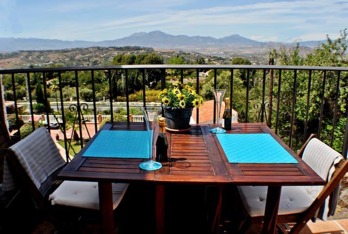 Private Breakfast terrace