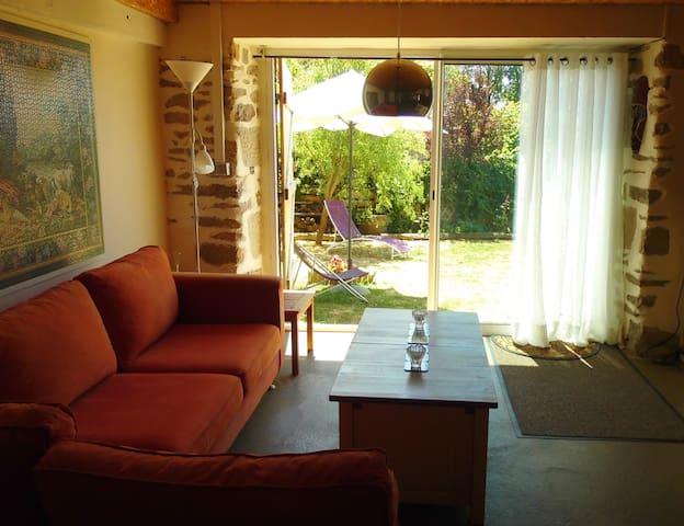 Appartement / loft met tuin in mooie boerenschuur