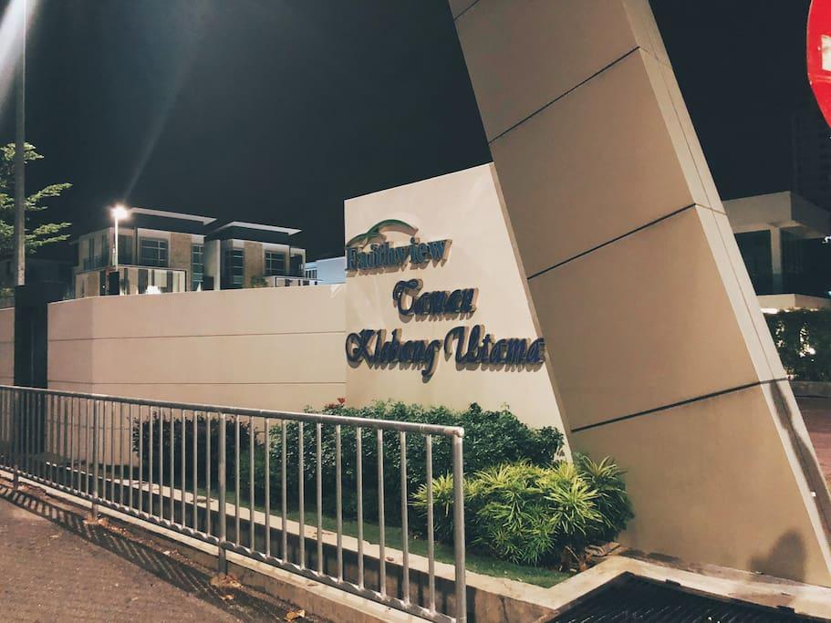 Name of the villa: Taman Klebang Utama