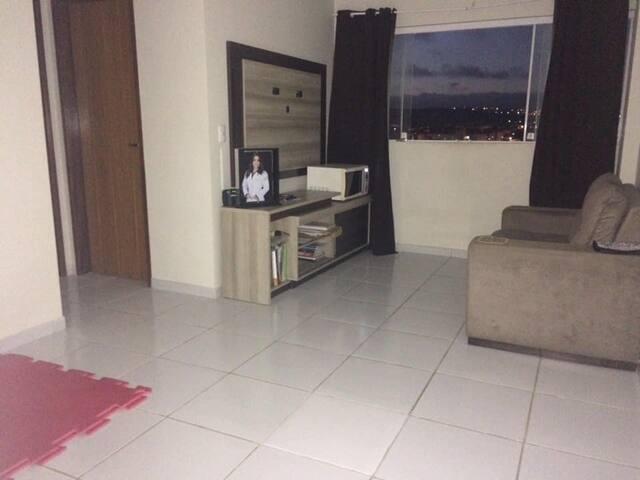 Quarto inteiro suite com área de lazer