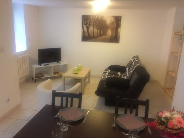 House with 2 bedroom for 6 people near Asterix