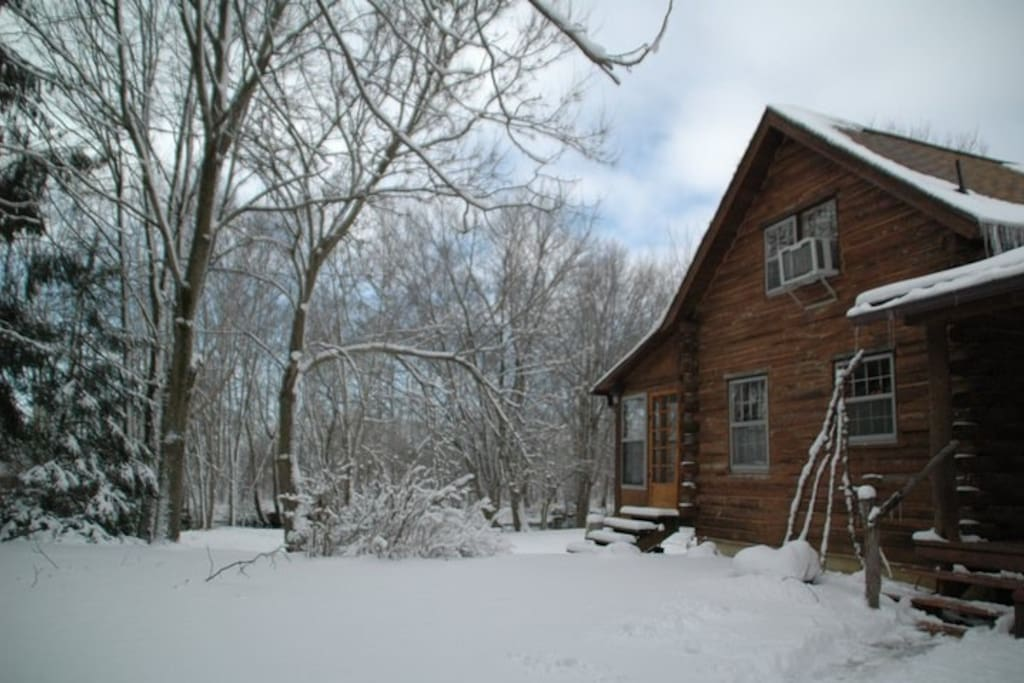 Winter at the cabin..