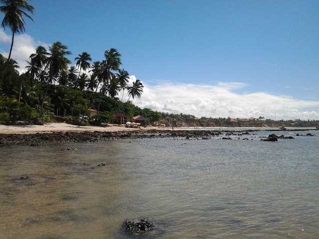 Flat na praia para seu conforto - Conde - Departamento