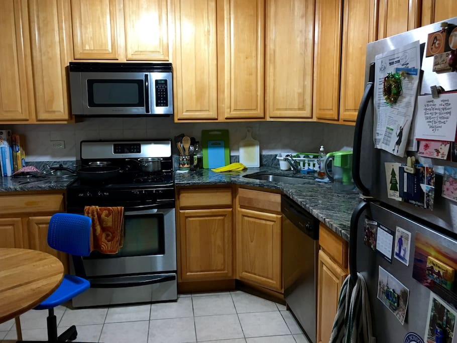 As our guest, you have full access to our spacious kitchen.