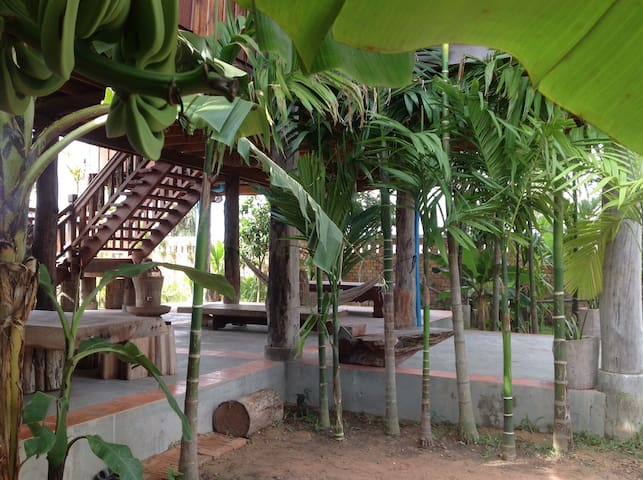 The Wooden Natural Homestay - Krong Siem Reap - Casa
