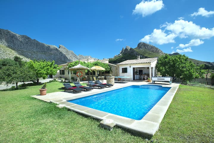 eautiful Villa Moya with Private Pool and Great Mountain Views
