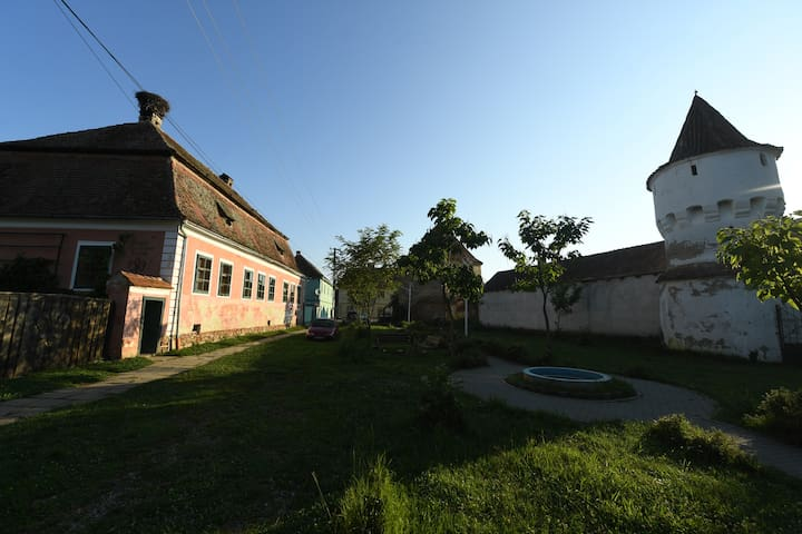 Historical house in the center or Transylvania