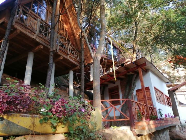 Cabaña Bugambilia para Parejas Mazamitla