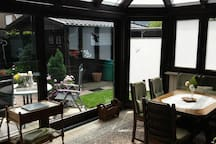 Wintergarden and terrace