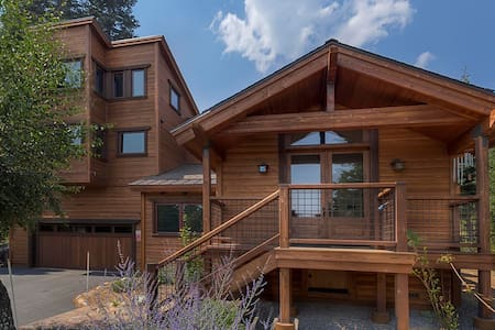 Spa, Sip and Ski Cabin in Tahoe Donner - Truckee - Chalet