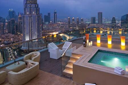 Beautiful Studio at Luxury Hotel Apartment - Dubai - Lejlighed