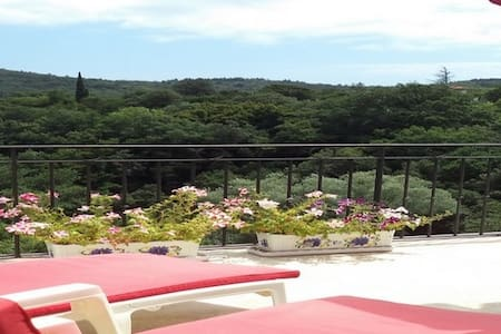 Gîte 130m2 avec Vue panoramique dans les corbieres - Albières - Alojamento ecológico