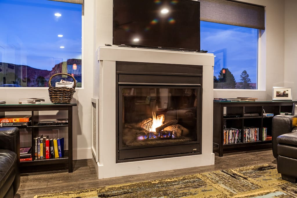 Gas fireplace