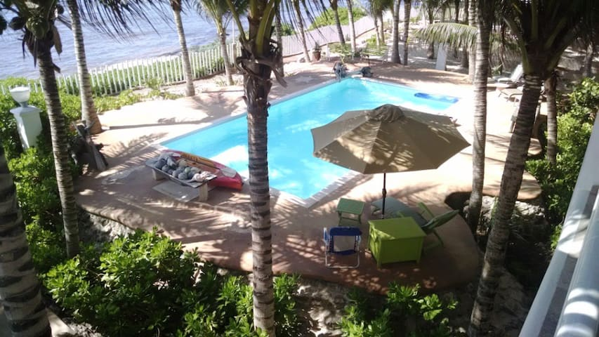 3rd Fl, Beach front Apartment, Puerto Morelos - Quintana Roo - Appartement