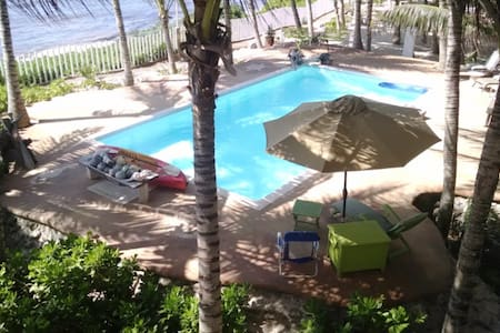 3rd Fl, Beach front Apartment, Puerto Morelos - Apartment