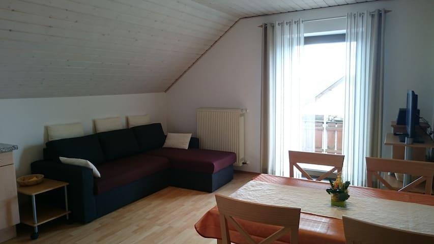 Ferienhaus Günztal, Fam. Botzenhart (Ellzee), Großzügige Ferienwohnung (80qm) mit Garten und WLAN