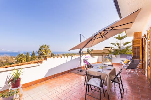 Casa Villea - Big terrace with sea view