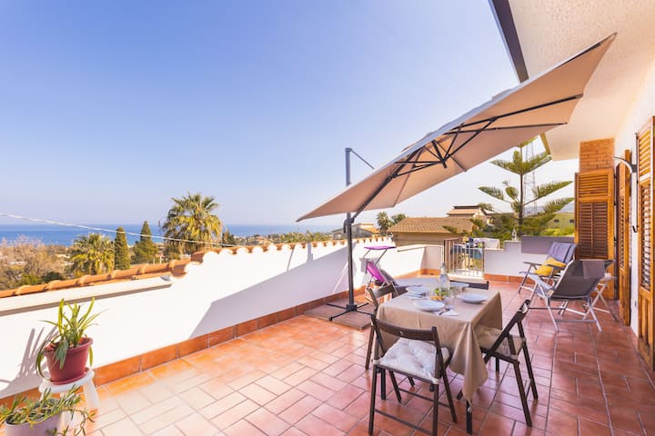 Casa Villea - Big terrace with sea view